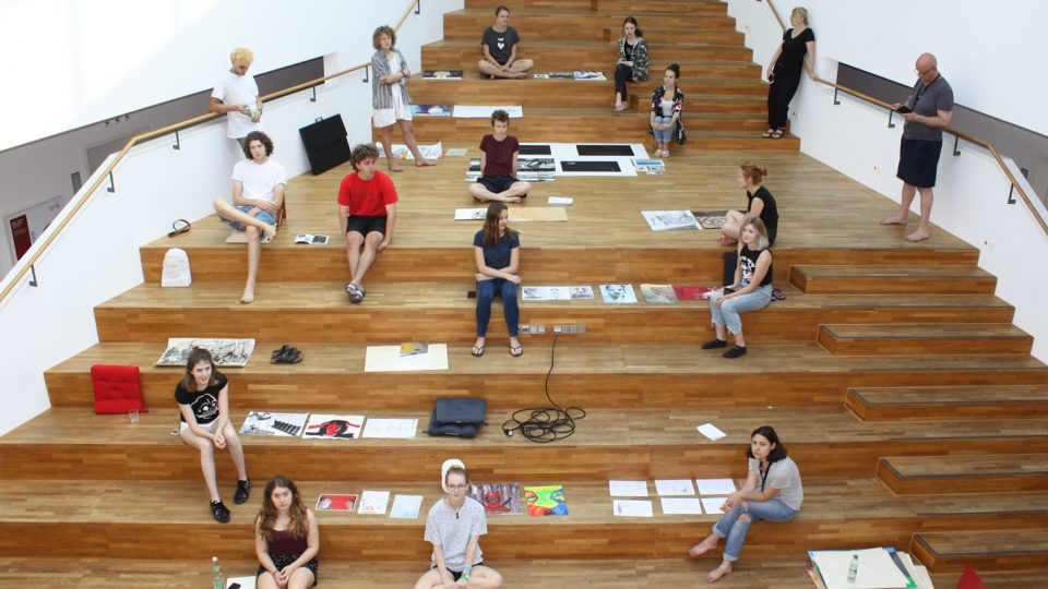 Young Master schaffen interdisziplinäre Kunstwerke