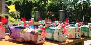 Solarboote beim Kinderehrenamtsfest